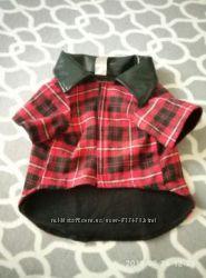Рубашка для собак с флисовой подкладкой, М-L.