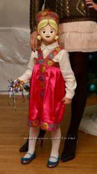 Карнавальный костюм Маши на прокат народный  русская красавица Одесса