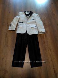 Набор для джентельмена костюм брюки рубашка пиджак