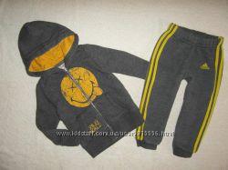 Спортивные штаны , брюки Adidas на 1, 5-2 года , Оригинал. Произведено в Пак