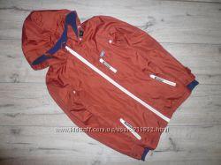 Куртка ветровка на флисе TU 9-10 лет 134-140 см