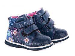 Ботинки для девочки, осень - весна, в наличии 22.