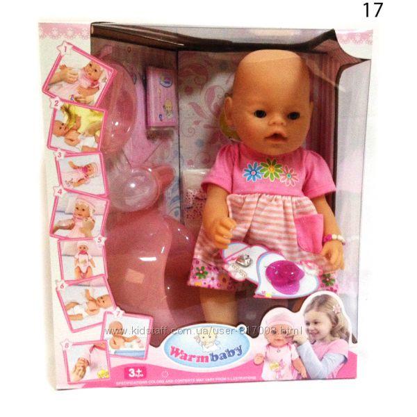Пупс Варм Беби 8006 интерактивный Warm baby кукла пупсик с аксесуарами