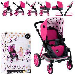 Хаук Айку 88842 колясочка кукольная коляска стул трансформер 5 в 1 Hauck