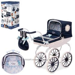 Романтик 87025 коляска для кукол пупсов DeCuevas Classic Romantic Испания