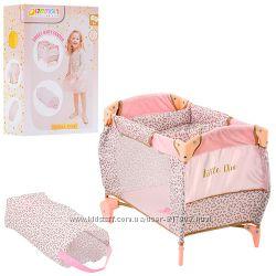 Манеж кровать для пупса кукол Хаук 90186 HAUCK