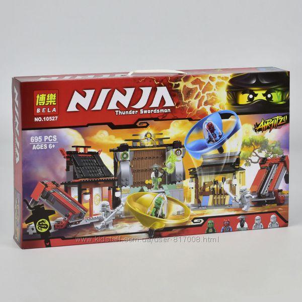 Конструктор Бела Нинзя 10527 Bela Ninja боевая площадка Аэроджитсу Ninjago