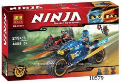 Конструктор Бела Нинзя 10579 10580 Bela Ninja  нинзяго Ninjago