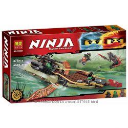 Конструктор Бела Нинзя 10581 набор Bela Ninja тень судьбы нинзяго Ninjago