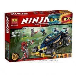 Конструктор Бела Нинзя 10582 набор Bela Ninja Самурай VXL нинзяго Ninjago