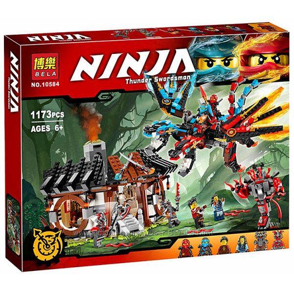 Конструктор Бела Нинзя 10584 Bela Ninja кузница дракона нинзяго Ninjago