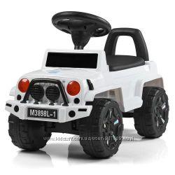 Джип Бамби 3898L детская каталка толокар машинка Bambi Jeep
