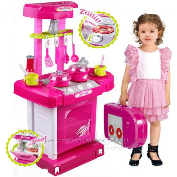 Кухня 008-58 игрушка детская набор с посудкой чемоданом Kitchen Set