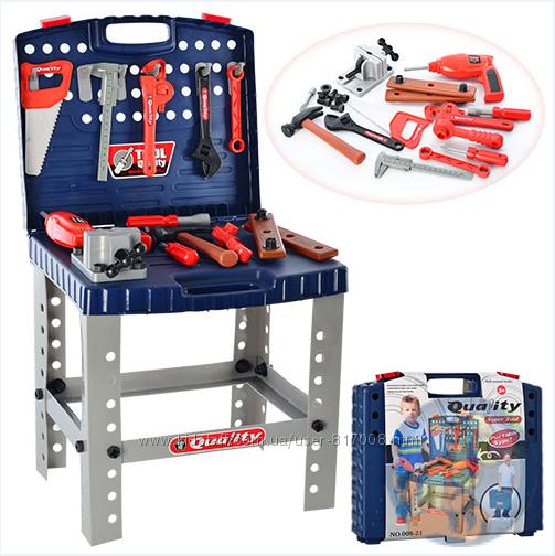 Набор инструментов 008-21 игровой в чемодане Super Tool Quality