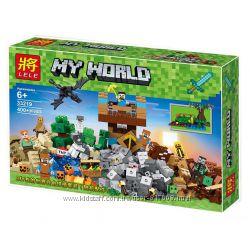 Леле Майнкрафт 33219 конструктор Замок священной войны Lele Minecraft лего
