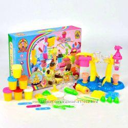 Фан Гейм 7225 Замок сладостей мороженного тесто для лепки Fun Game
