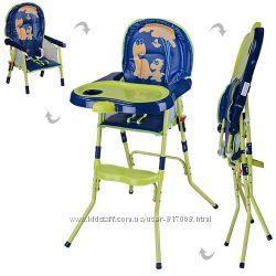 Стульчик HC100A для кормления классический складной детский
