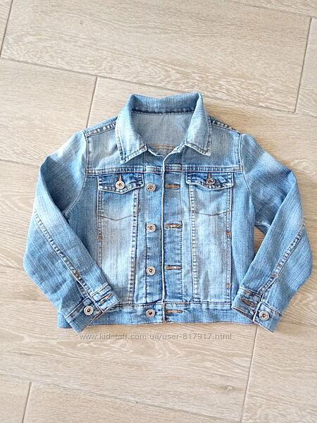 Джинсовый пиджак для мальчика глория джинс