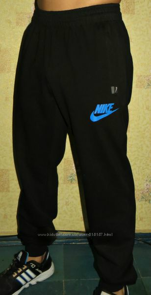 Летние спортивные штаны Nike на манжете.
