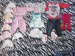 Одежка для девочки 0-3мес
