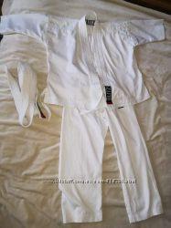 Белое кимоно на рост 100-110 см