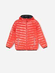 Стеганая куртка с капюшоном reserved