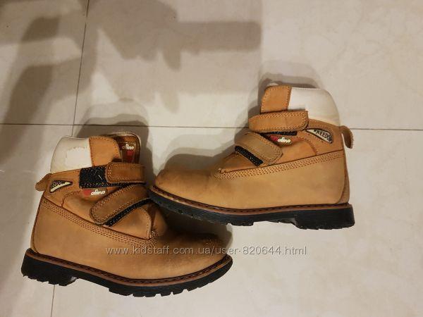 Зимние ботинки, нубук, цегейка. Ortopedia. Размер 29