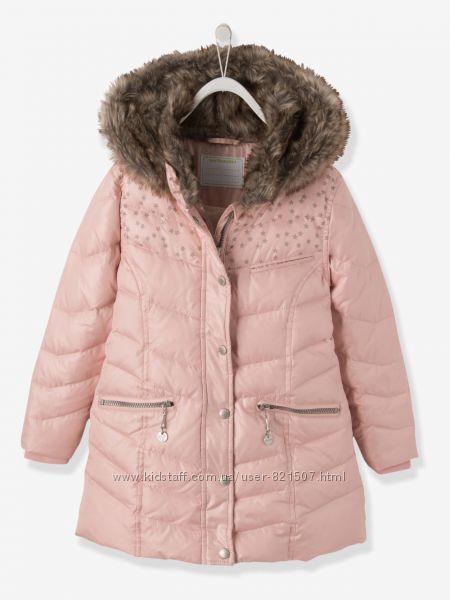 Пальто с капюшоном Verbaudet Франция 30 перо