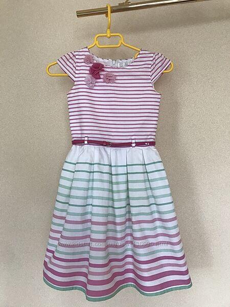 Платье Cool club хлопок  134см в новом состоянии торг