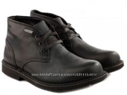 Новые, кожаные, демисезонные ботинки  CLARKS c gore-tex - 41, 5 - 28 см