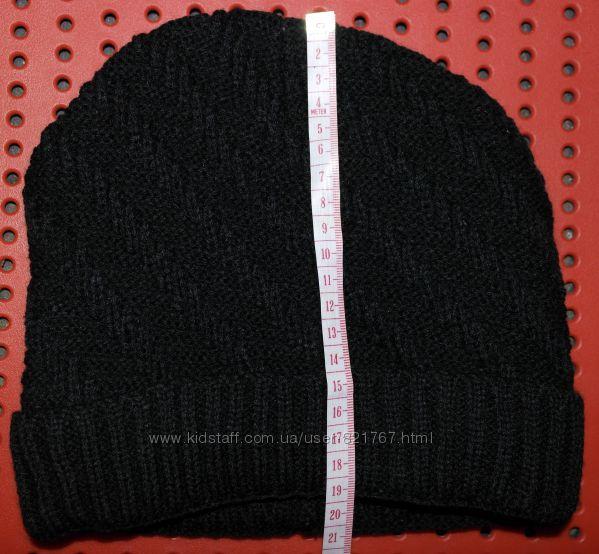 Новая шапка бини плотная вязка