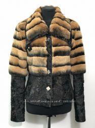 Куртка с мехом шиншыллы Demmy. Оригинал