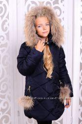 Куртка зимняя для девочки  Вика-дочка рр 128-146
