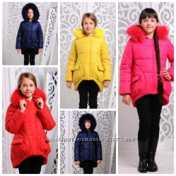 зимняя куртка для девочки Мая рр 122-146