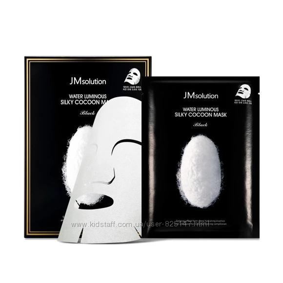 Маска для с протеинами шелка JMsolution Water Luminous Silky Cocoon Mask