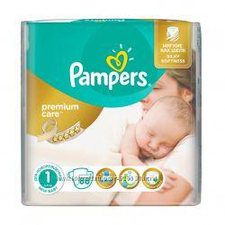 Лучшие подгузники Pampers premium care 1-5 р