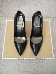 Стильные туфли из натуральной кожи marco rizzi со стальным носочком