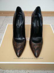 Элегантные лаковые туфли из натуральной кожи tucino