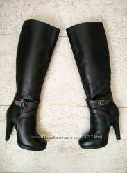 Супер стильные демисезонные весенниеосенние кожаные сапожки Вraska