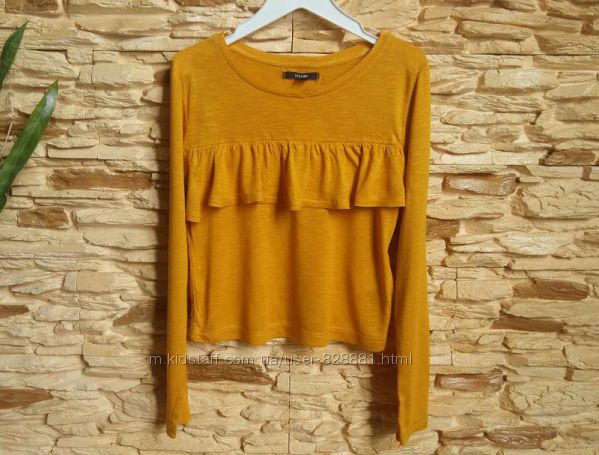 Укороченная блуза, реглан Kiabi, Франция, на 9-10 лет, размер 138-143