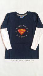 Регланы Superman Германия на 6-12 лет