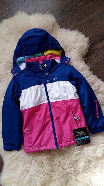 Лыжная термокуртка Trespass, Шотландия, на 5-6 лет, размер 110-116
