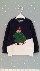 Рождественские свитерки, кофточки C&A, Германия, на 1-2 годика, разм. 86,92