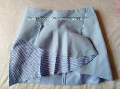 Оригинальная летняя юбочка от Zara, L
