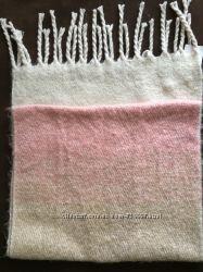 Теплий шарф-накидка