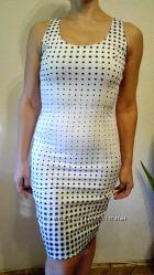 Новое платье sela в горох