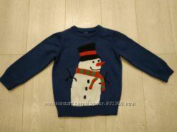 Новогодний свитер C&A  3-5 лет