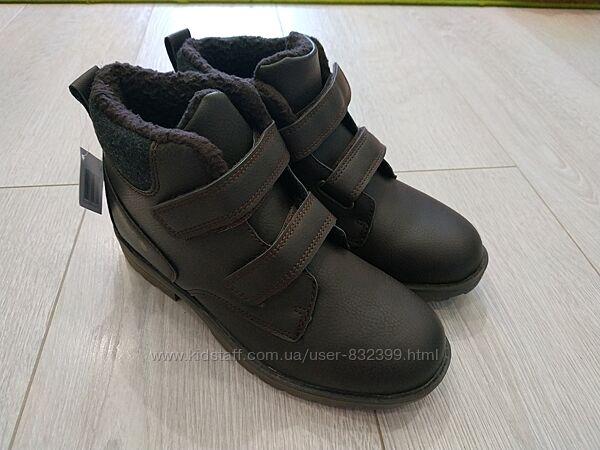 Деми ботинки хайтопы Pepperts 35 22.5см