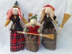 Handmade. Баба Яга. Оберег и подарок. Кукла-мотанка.