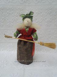 Баба Яга. Handmade. Мотанка. Рост 22 см.